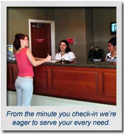 From the minute you check-in to our Mr Sandman Inn & Suites motel we're eager to serve your every need.