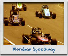The Meridian Speedway near our Mr Sandman Inn & Suites hotel is a great place to spend race day.